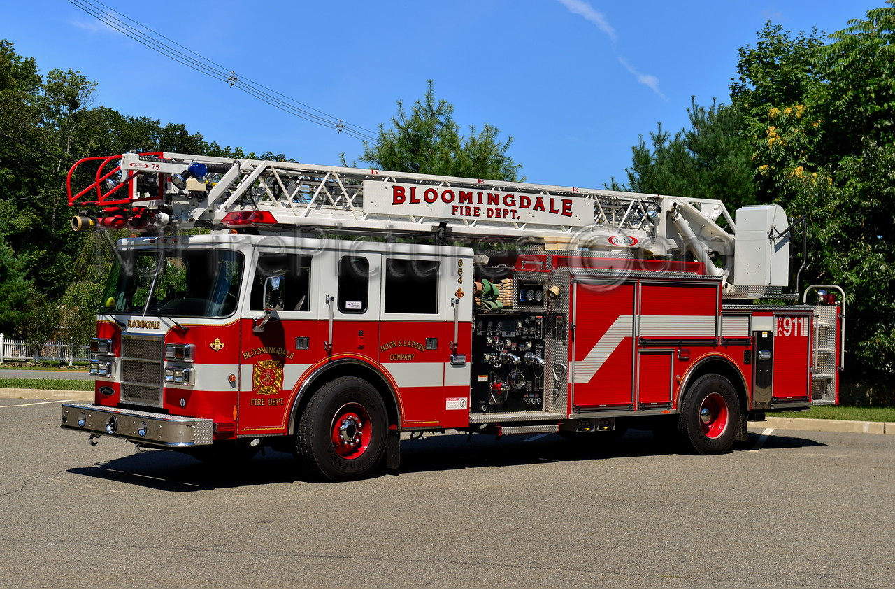 BLOOMINGDALE, NJ LADDER 664