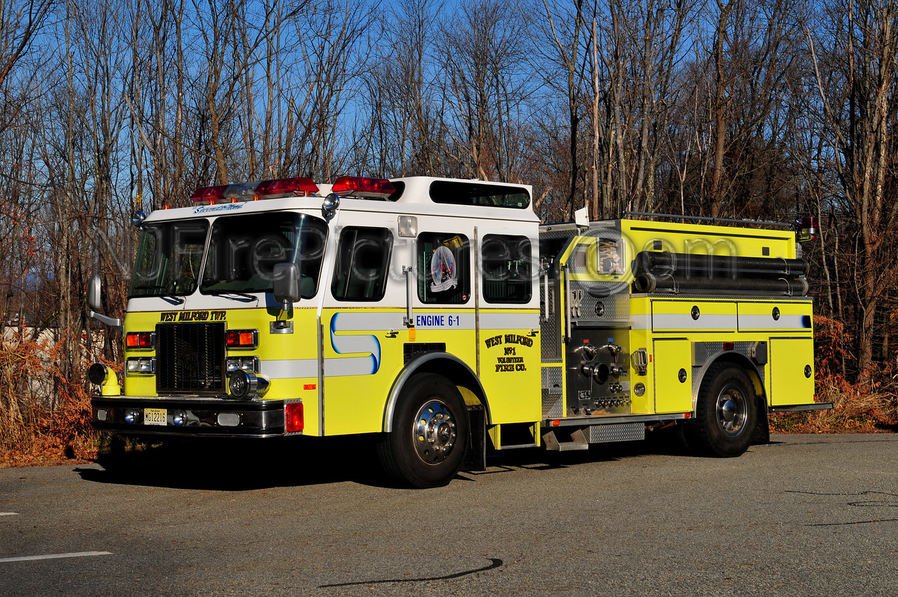 WEST MILFORD ENGINE 6-1 - 1993 EMERGENCY ONE 1500/1000