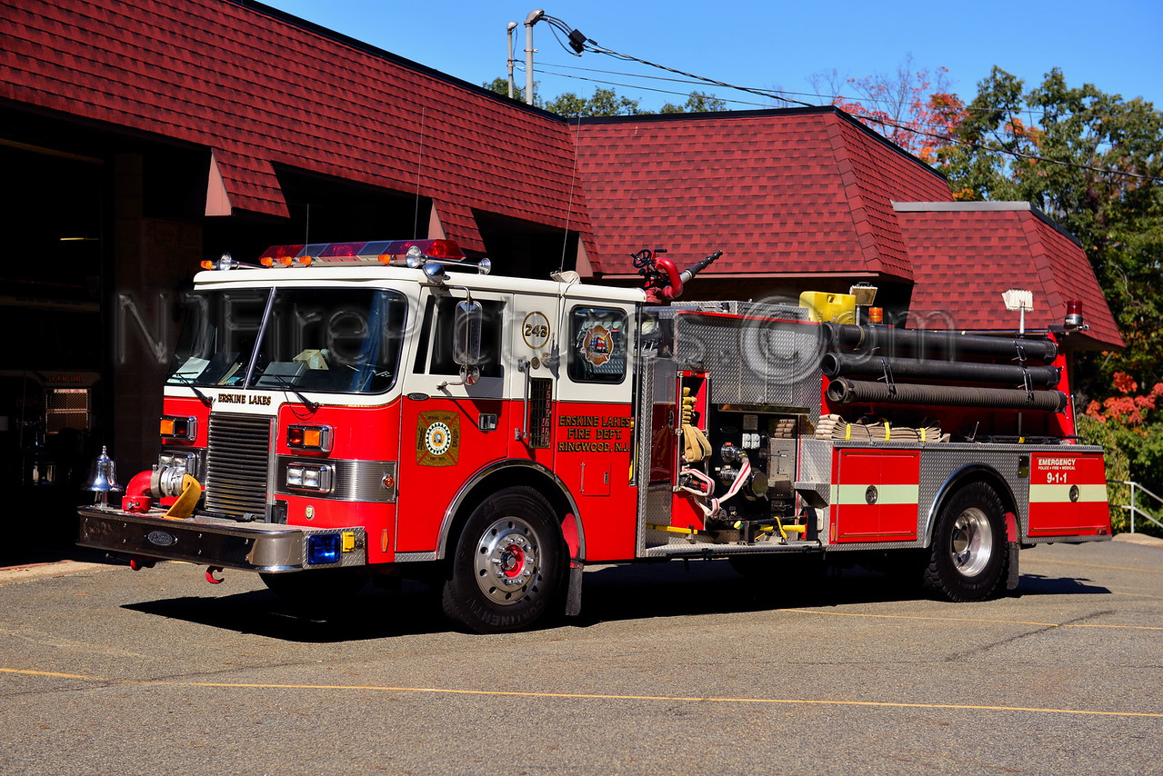 RINGWOOD, NJ ERSKINE LAKES FIRE CO. ENGINE 243