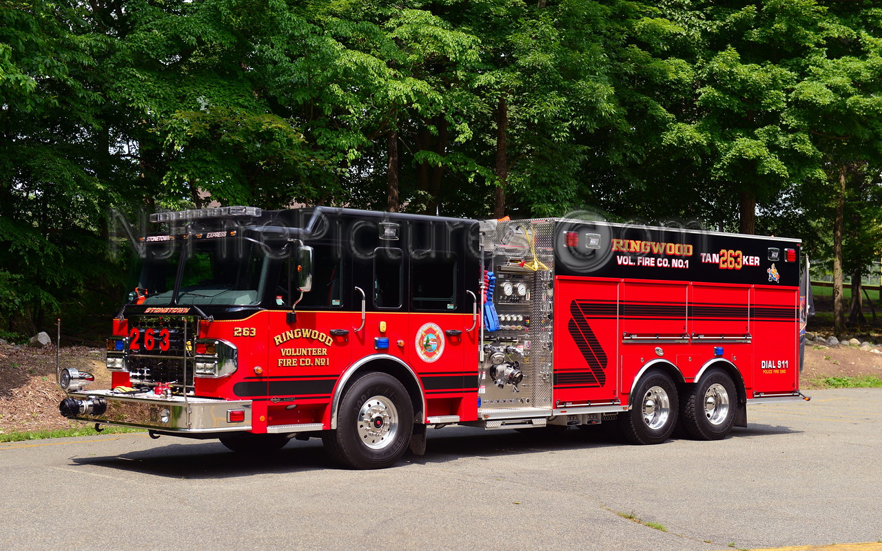 RINGWOOD, NJ TANKER 263 STONETOWN FIRE CO.