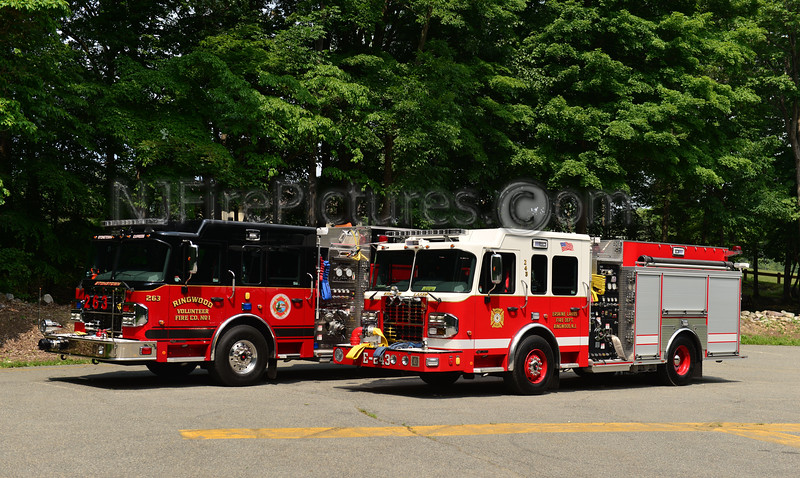 RINGWOOD NJ ENGINE 243 & TANKER 263