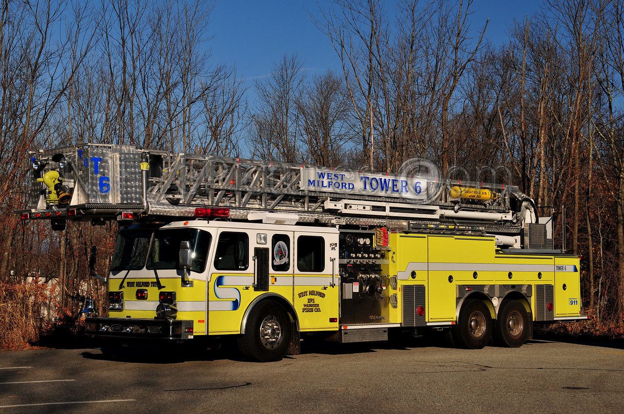 WEST MILFORD TOWER 6 - 1999 EMERGENCY ONE 1500/200/105'