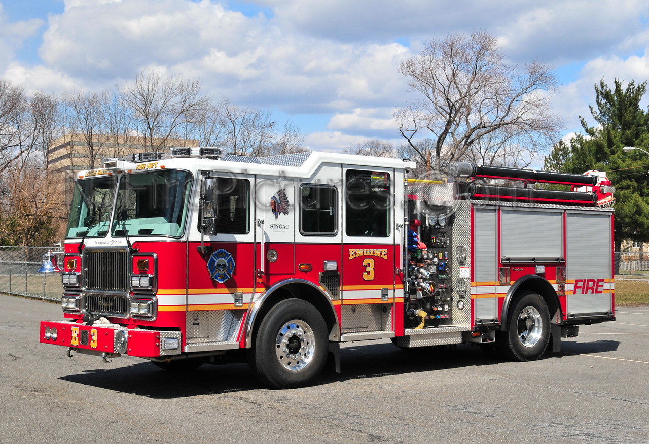 LITTLE FALLS ENGINE 3 - 2009 SEAGRAVE MAURADER II  1750/500/40