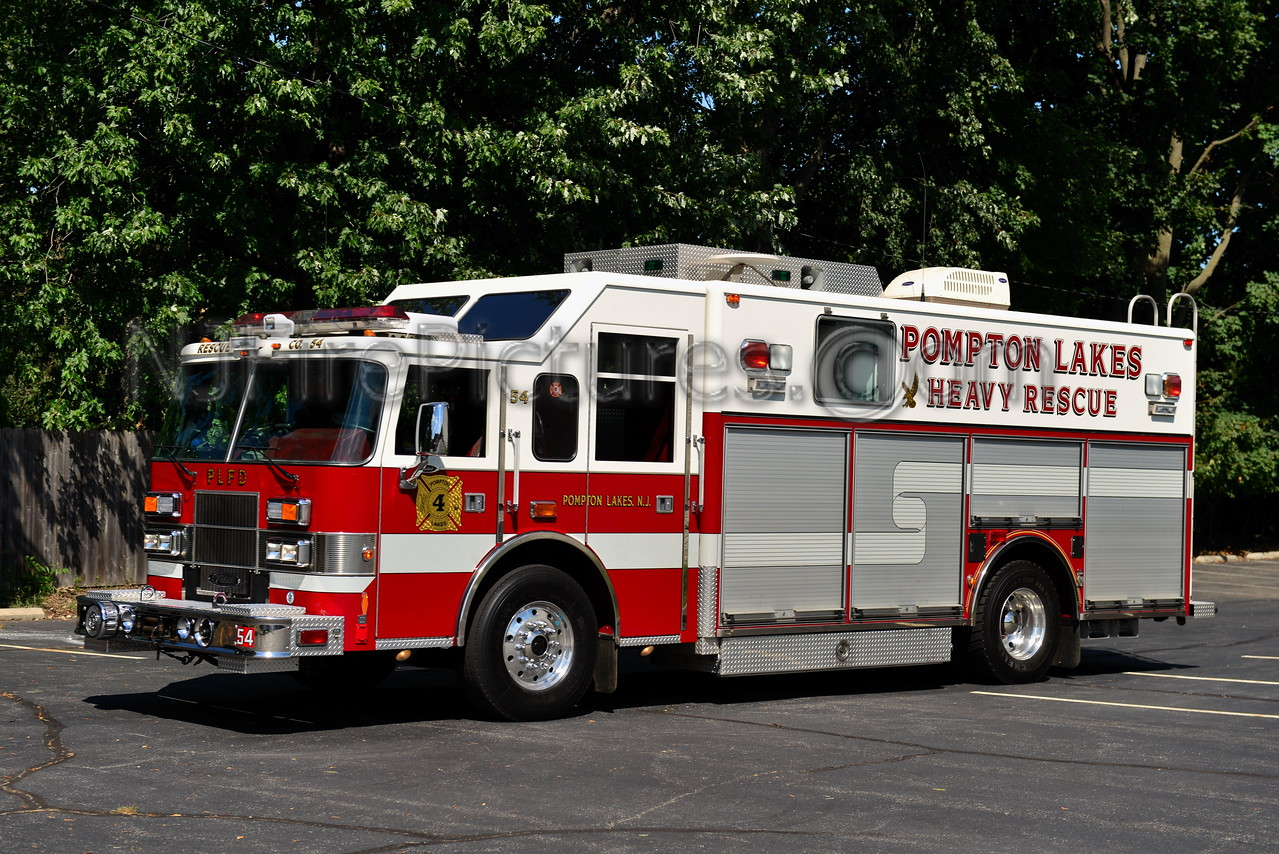 POMPTON LAKES, NJ RESCUE 54