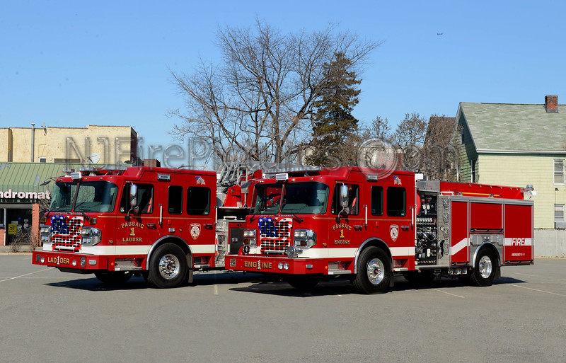 PASSAIC NJ ENGINE 1 AND LADDER 1