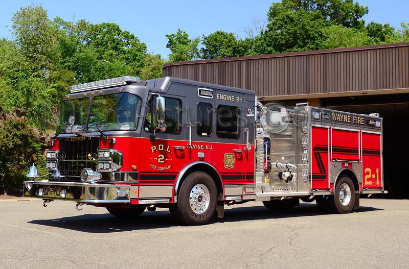WAYNE, NJ ENGINE 2-1 P.O.L. FIRE CO.