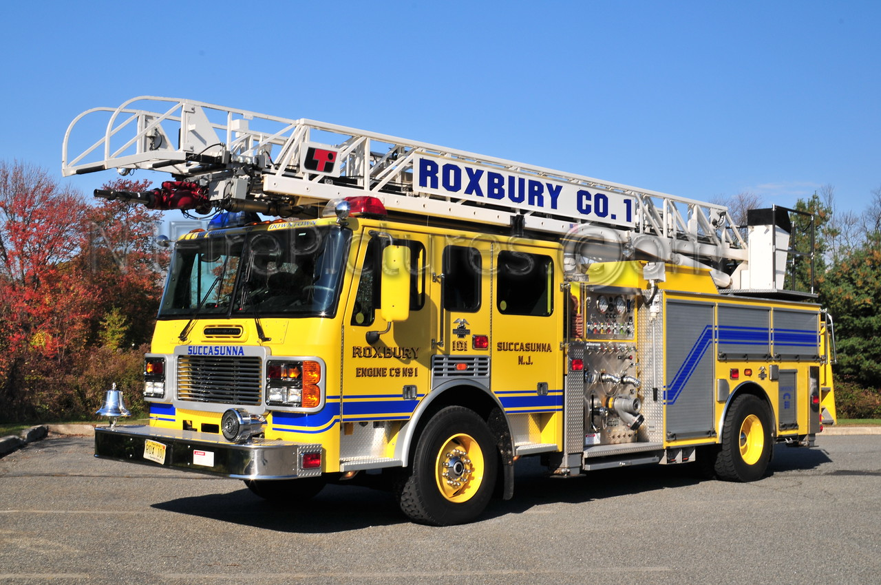 ROXBURY TOWNSHIP, NJ LADDER 101