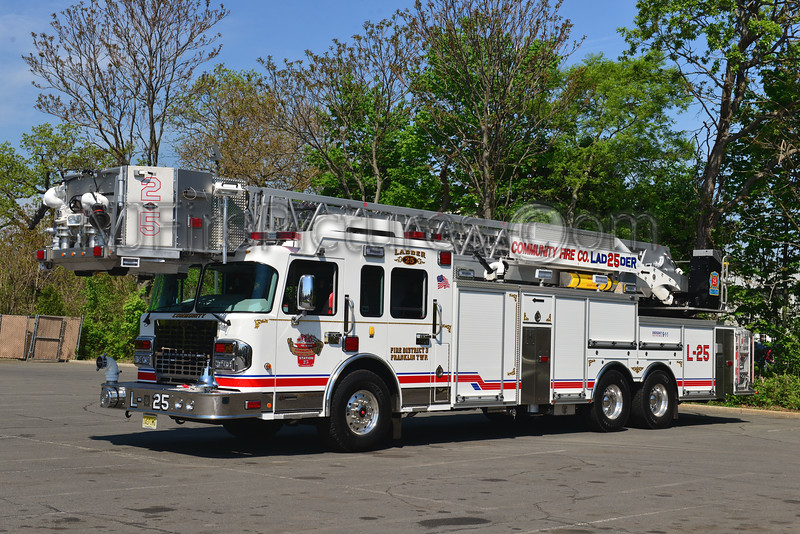 FRANKLIN TWP, NJ COMMUNITY FIRE CO. LADDER 25