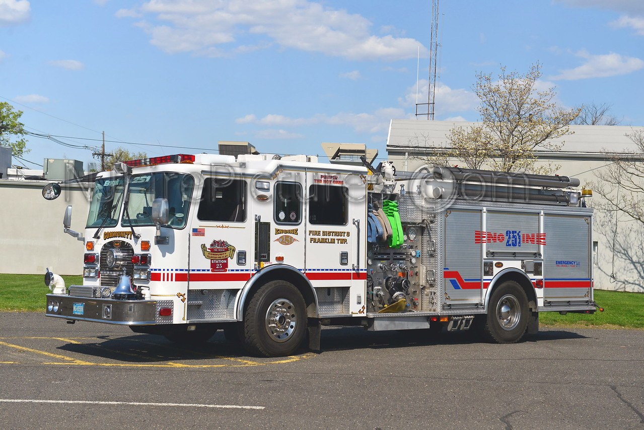 FRANKLIN TOWNSHIP, NJ ENGINE 251 COMMUNITY FIRE CO.