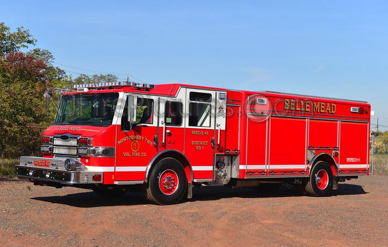 MONTGOMERY TWP, NJ (BELLE MEAD FIRE CO.) RESCUE 45