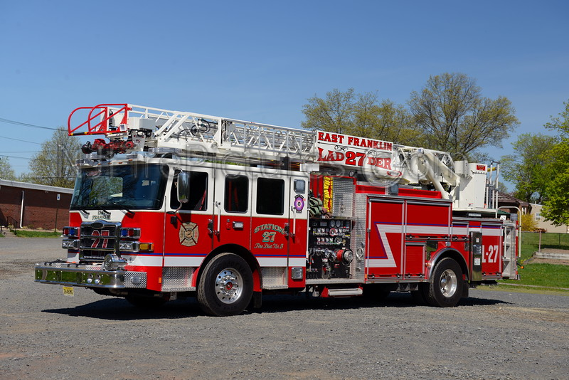 EAST FRANKLIN, NJ LADDER 27