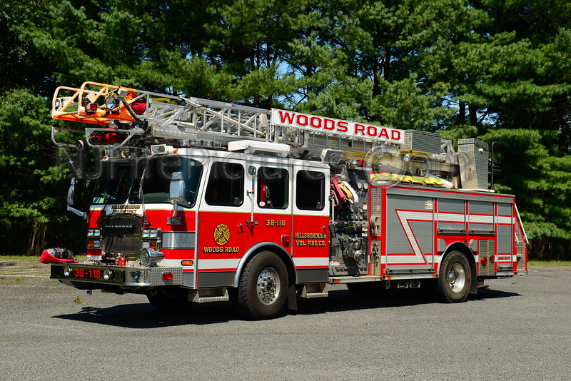 HILLSBOROUGH NJ (WOODS ROAD) LADDER 38-118