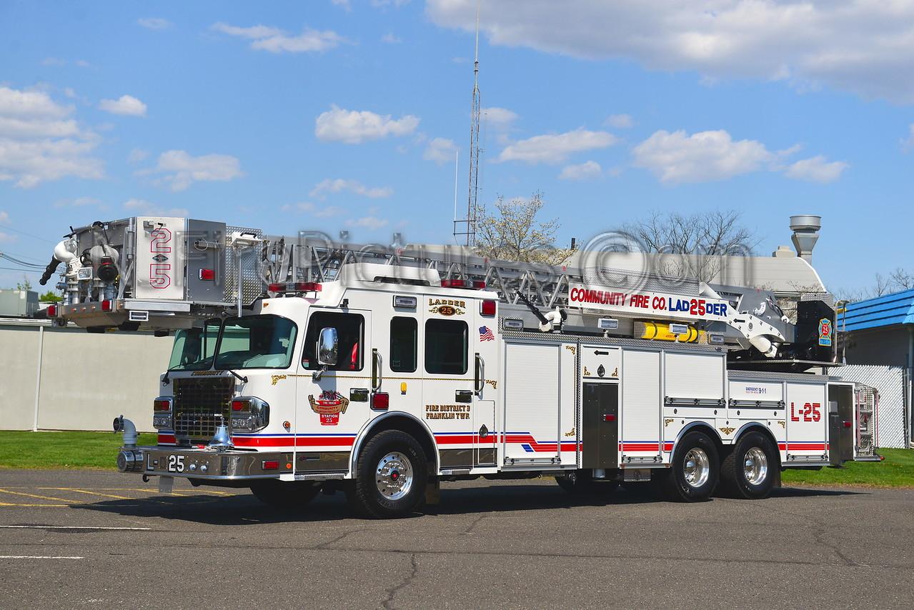 FRANKLIN TOWNSHIP, NJ LADDER 25 COMMUNITY FIRE CO.