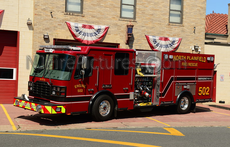 NORTH PLAINFIELD, NJ ENGINE 502