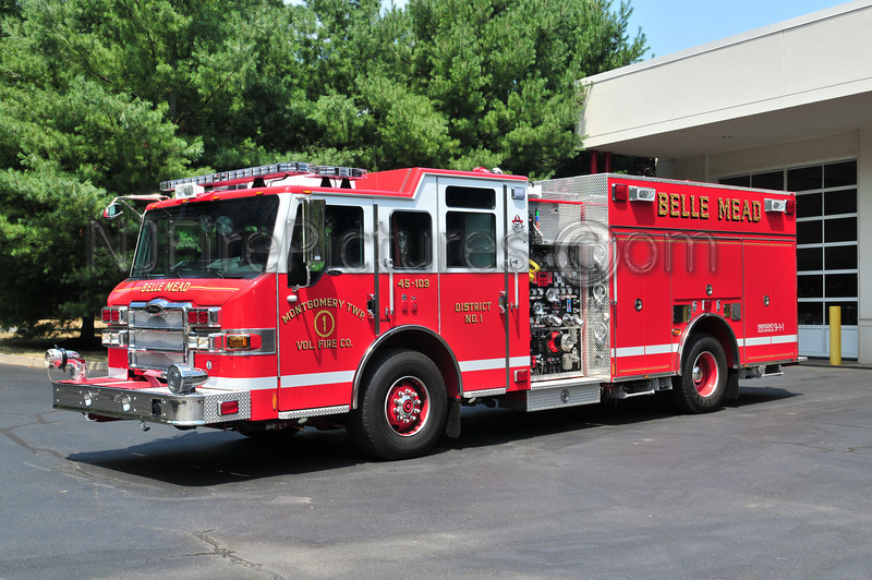 Montgomery Twp Dist. 1 (Belle Mead) Engine 45-103 - 2010 Pierce Velocity 2000/1000/30/40