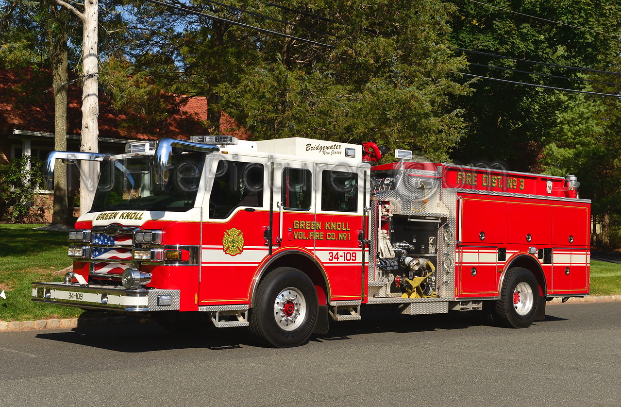 BRIDGEWATER TOWNSHIP, NJ (GREEN KNOLL FIRE CO.) ENGINE 34-109