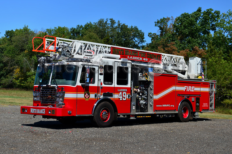 BRIDGEWATER NJ (NORTH BRANCH DIST. 3) LADDER 49