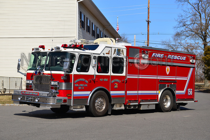 MONTGOMERY TWP., NJ BLAWENBURG RESCUE-ENGINE 46