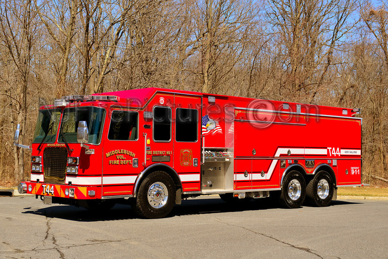 FRANKLIN TWP NJ MIDDLEBUSH FIRE CO. TANKER 44