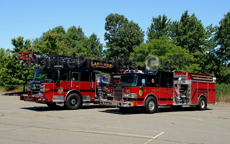 WARREN TOWNSHIP, NJ OLD & NEW SQUAD 61 AND LADDER 61