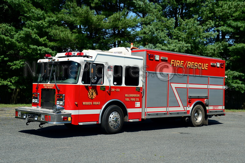 HILLSBOROUGH NJ (WOODS ROAD) RESCUE 38-151
