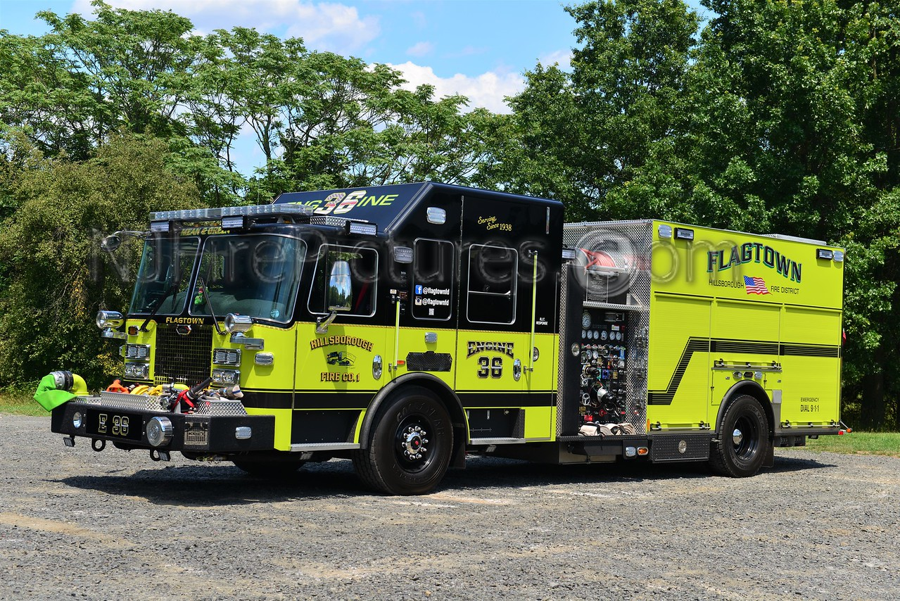 New jersey somerset county flagtown - Hillsborough Nj Engine 36