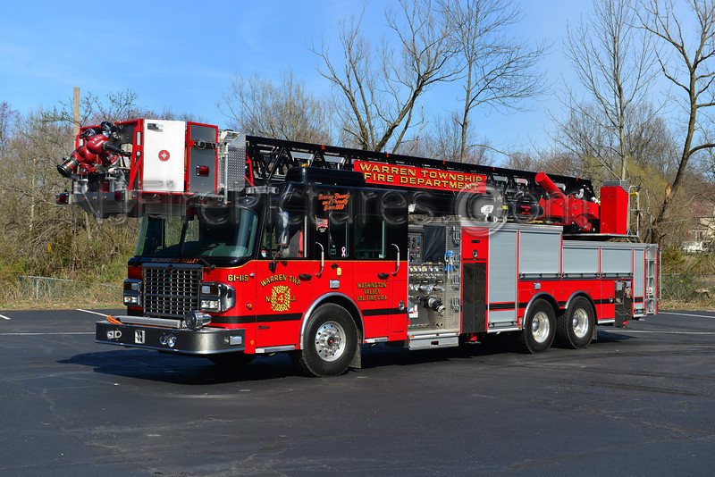 WARREN TOWNSHIP, NJ LADDER 61-115