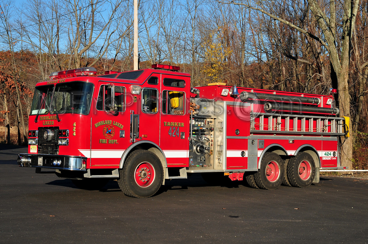 VERNON TWP, NJ HIGHLAND LAKES - TANKER 424