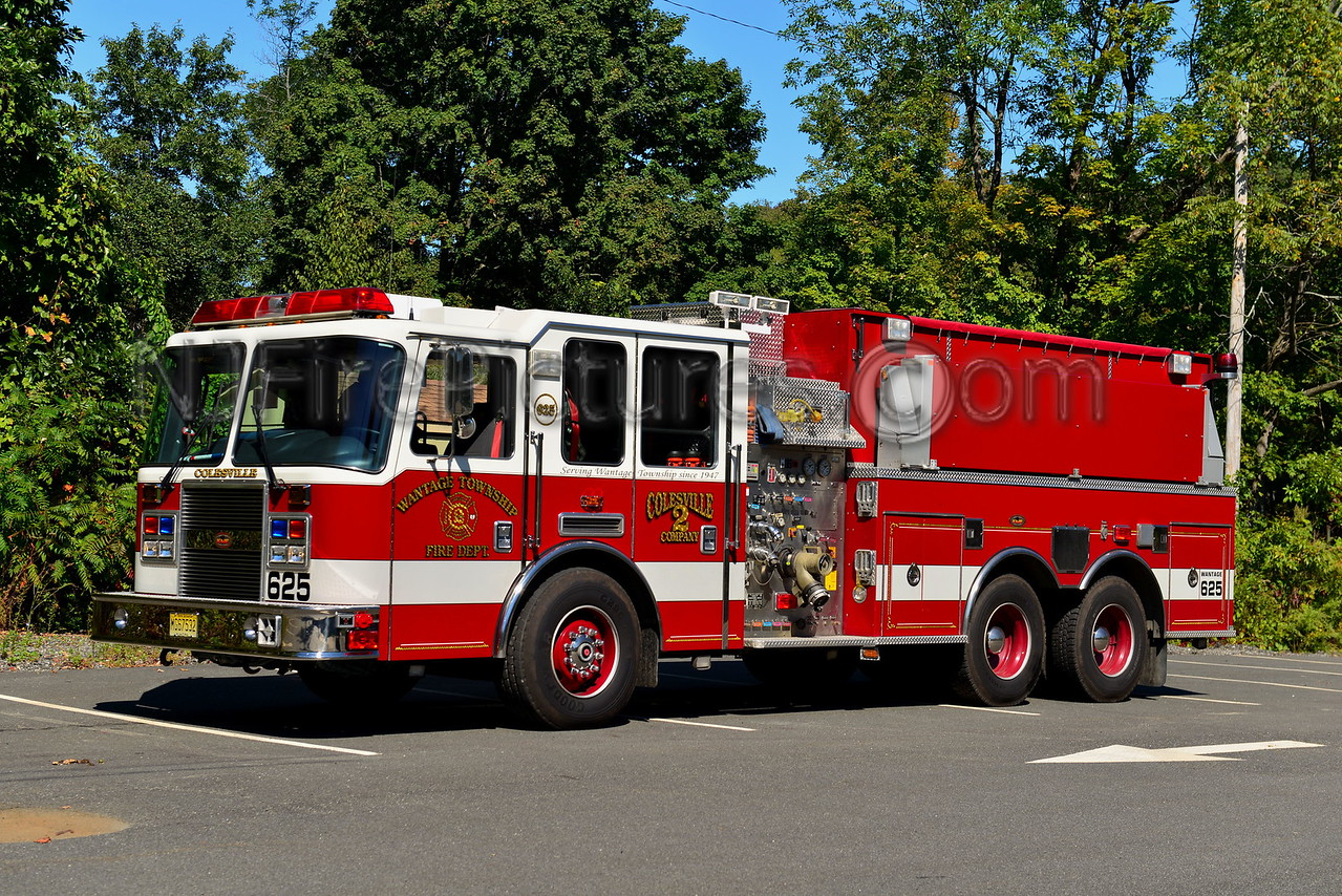 WANTAGE, NJ TANKER 625 COLESVILLE FIRE CO. 2