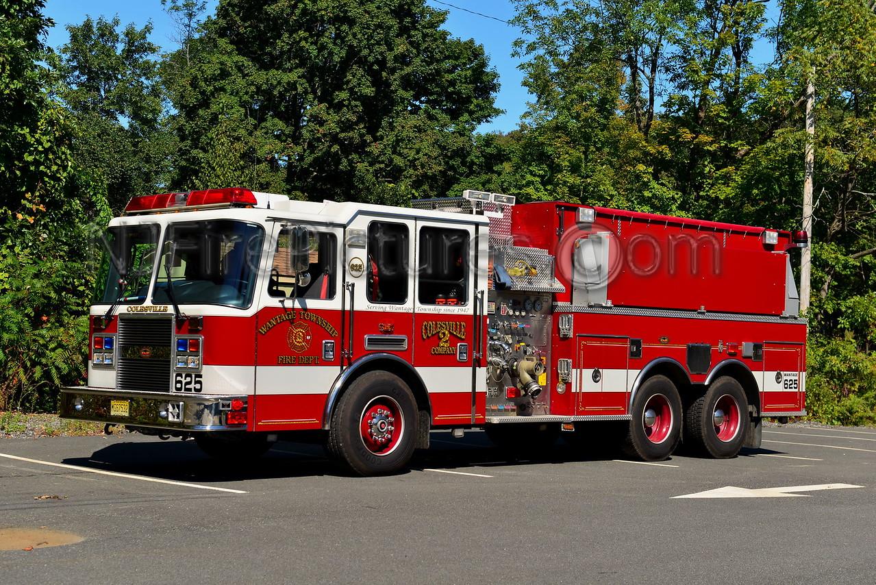 WANTAGE, NJ TANKER 625 COLESVILLE FIRE CO. 2