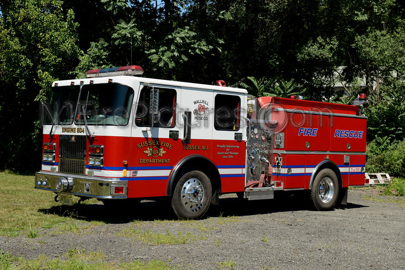 SUSSEX BOROUGH, NJ ENGINE 604