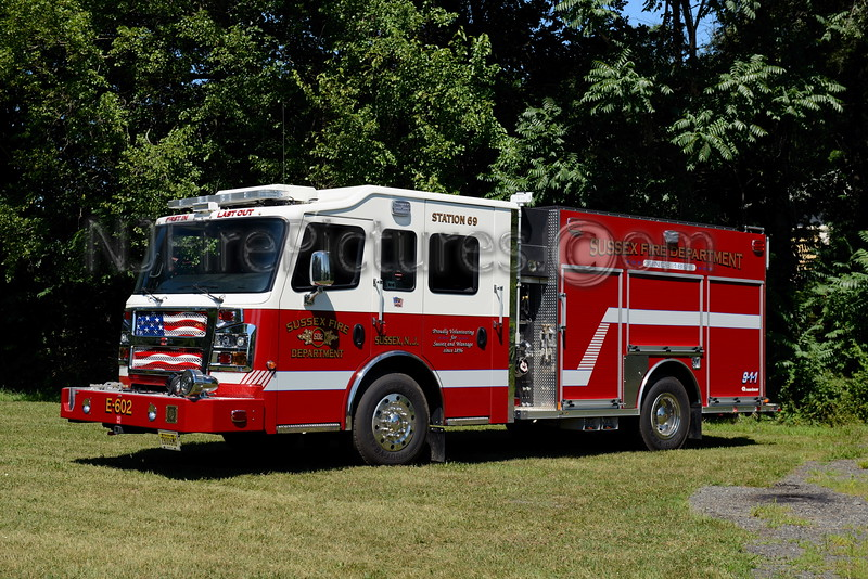 SUSSEX BOROUGH, NJ ENGINE 602