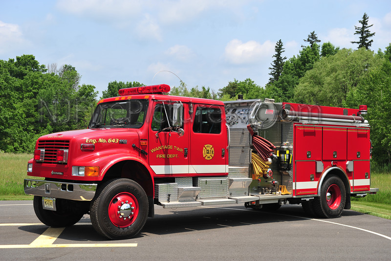 WANTAGE TWP, NJ (BEEMERVILLE FIRE CO.) ENGINE 643