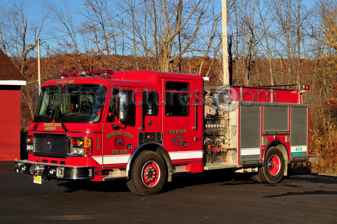 VERNON TWP, NJ HIGHLAND LAKES - ENGINE 425