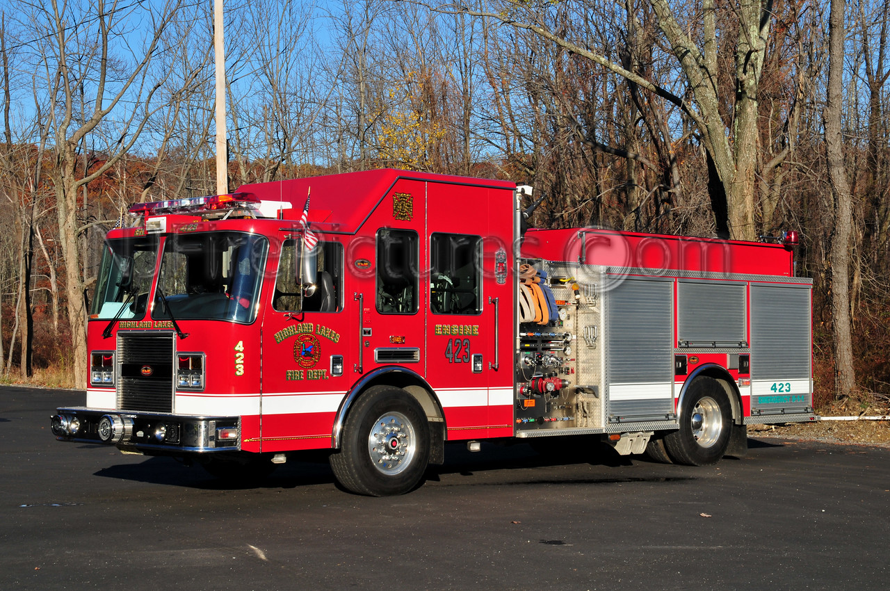 VERNON TWP, NJ HIGHLAND LAKES FC - ENGINE 423