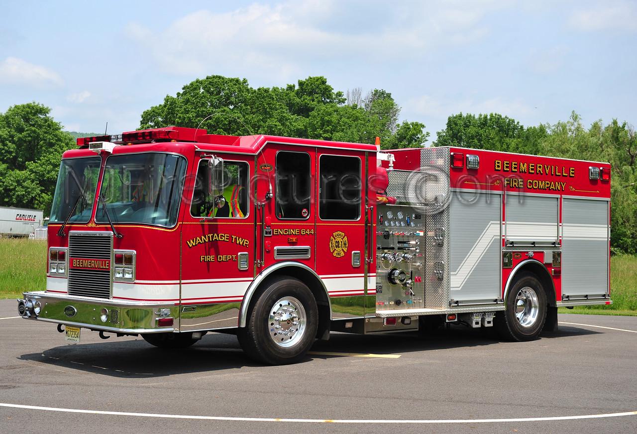 WANTAGE TWP, NJ (BEEMERVILLE) ENGINE 644