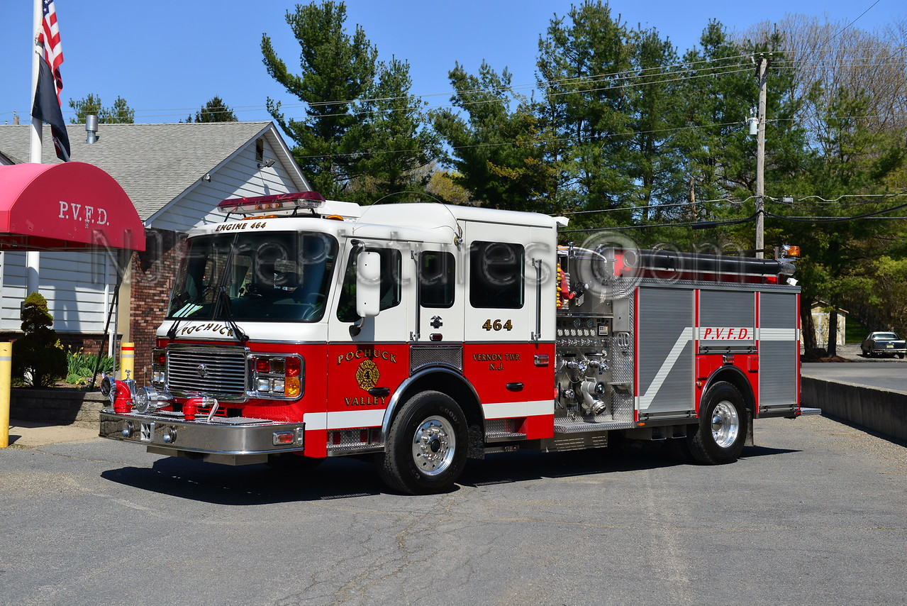 VERNON TWP, NJ (POCHUCK FIRE CO.) ENGINE 464