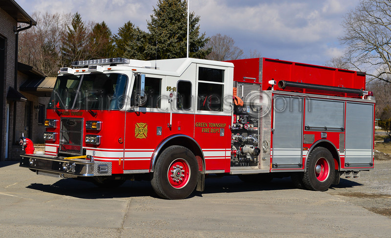 GREEN TOWNSHIP ENGINE 95-61