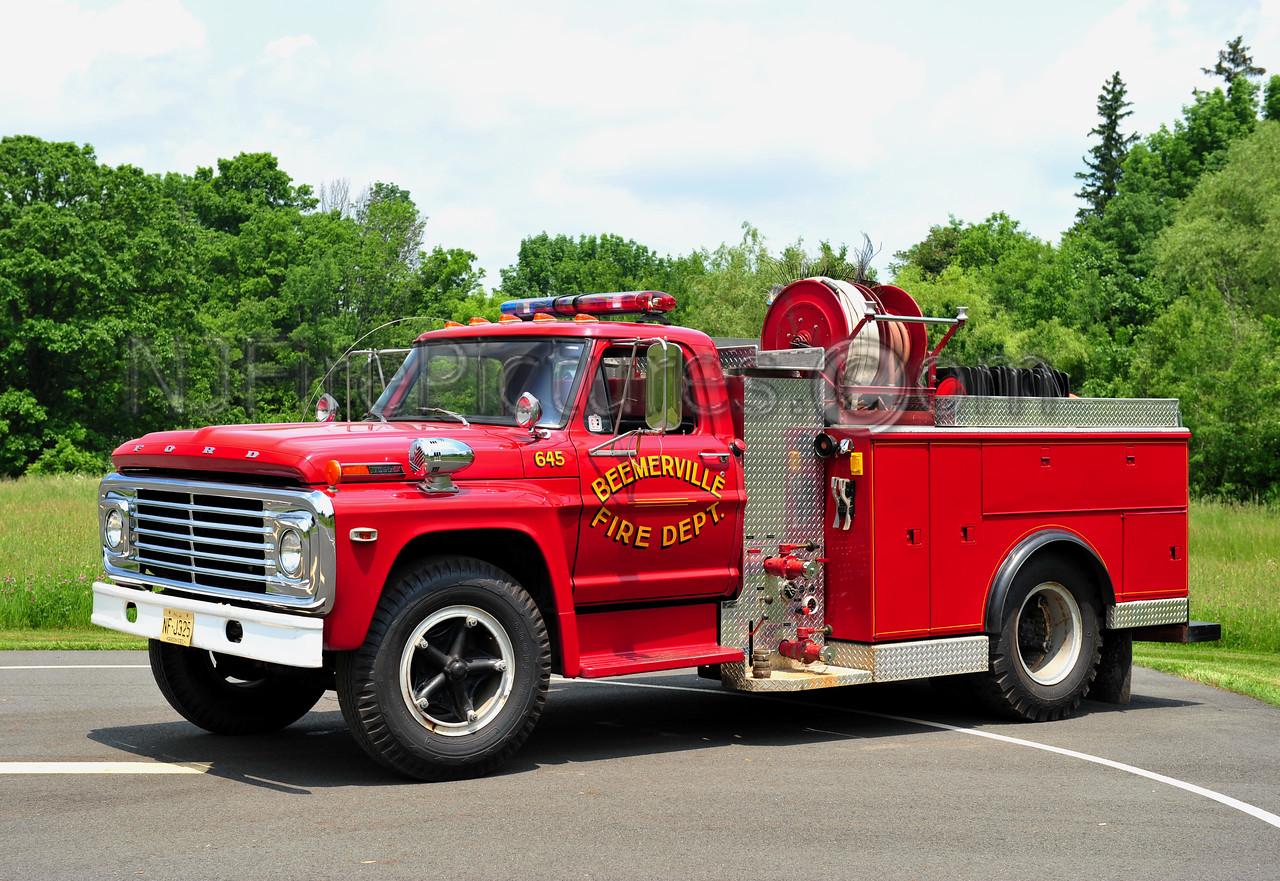 WANTAGE TWP, NJ (BEEMERVILLE FIRE CO.) BRUSH 645