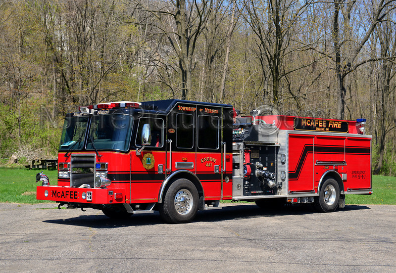 VERNON TWP, NJ (McAFEE FIRE CO.) ENGINE 441