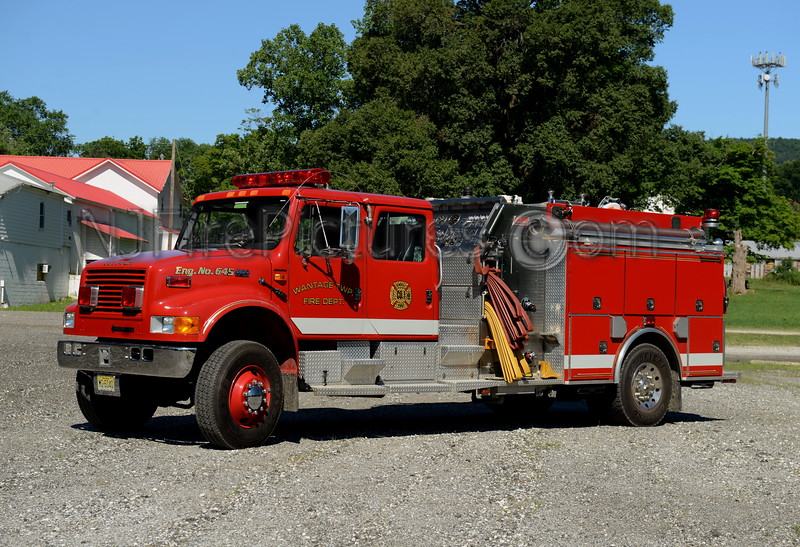 WANTAGE TWP, NJ ENGINE 645 BEEMERVILLE