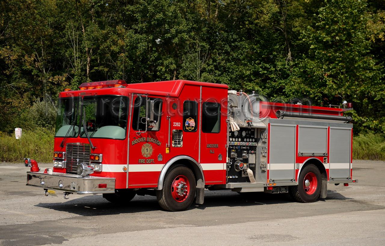 ANDOVER BOROUGH, NJ ENGINE 2262