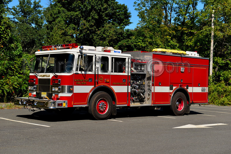 WANTAGE, NJ ENGINE 622 COLESVILLE FIRE CO. 2
