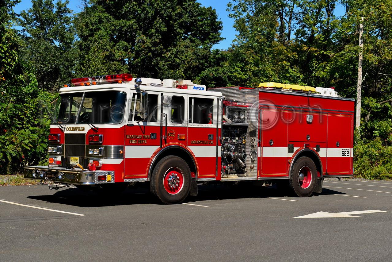 WANTAGE, NJ ENGINE 622 COLESVILLE FIRE CO. 2