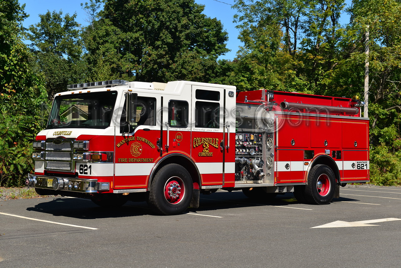 WANTAGE, NJ ENGINE 621 COLESVILLE FIRE CO.