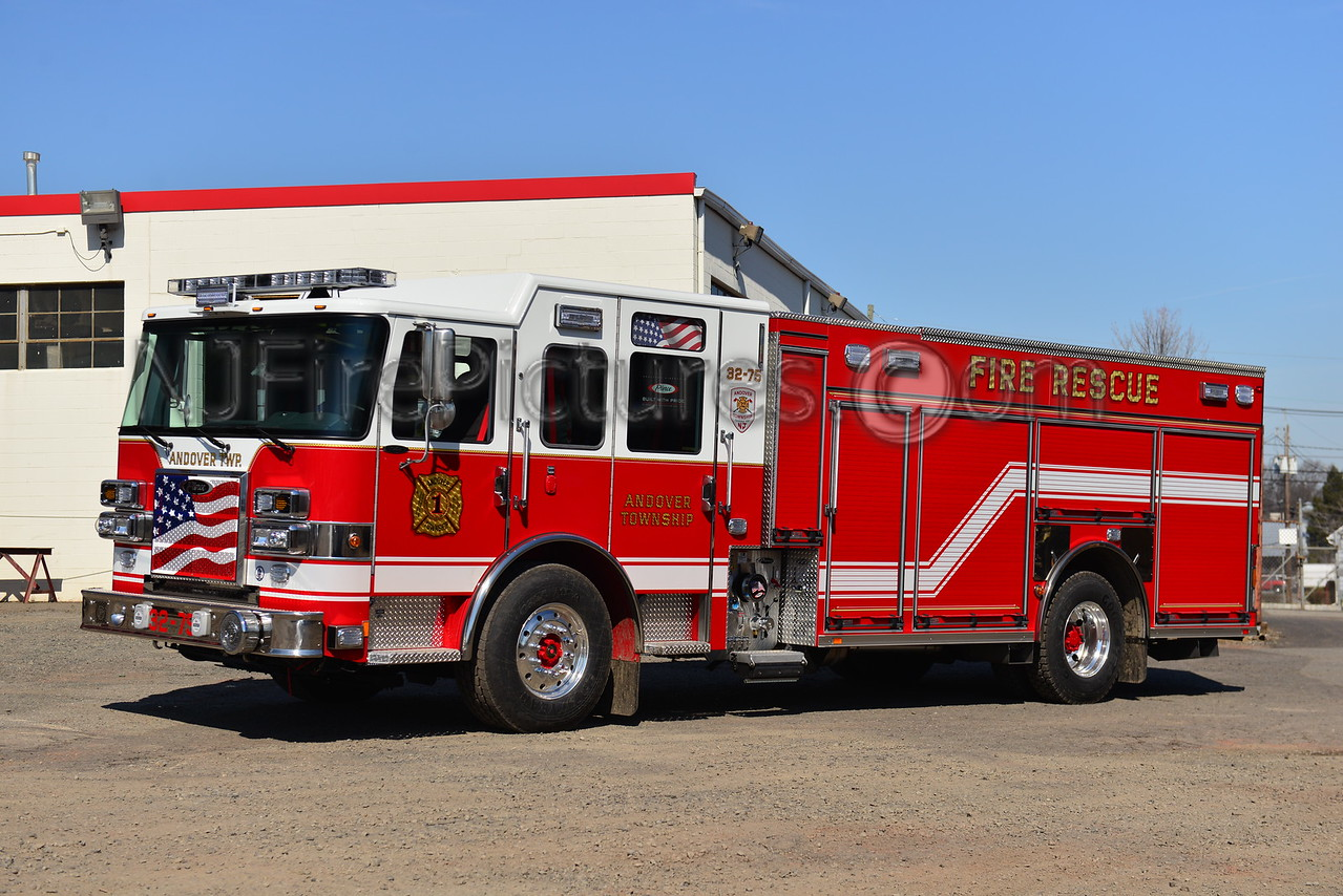 ANDOVER TOWNSHIP, NJ RESCUE ENGINE 32-75