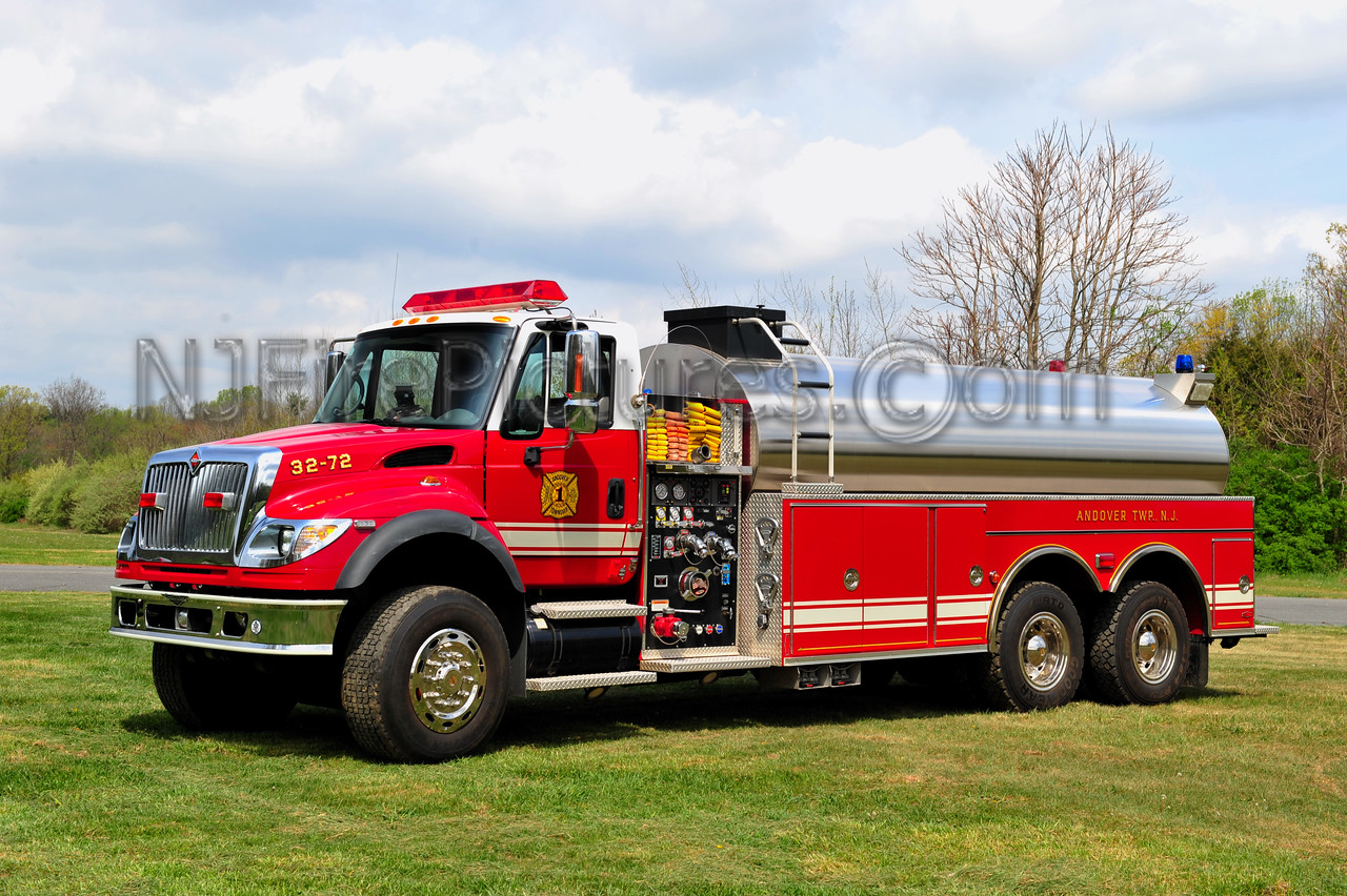 ANDOVER TWP, NJ TANKER 32-72