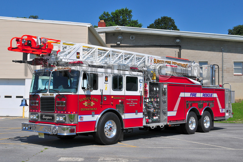SUSSEX, NJ LADDER 605