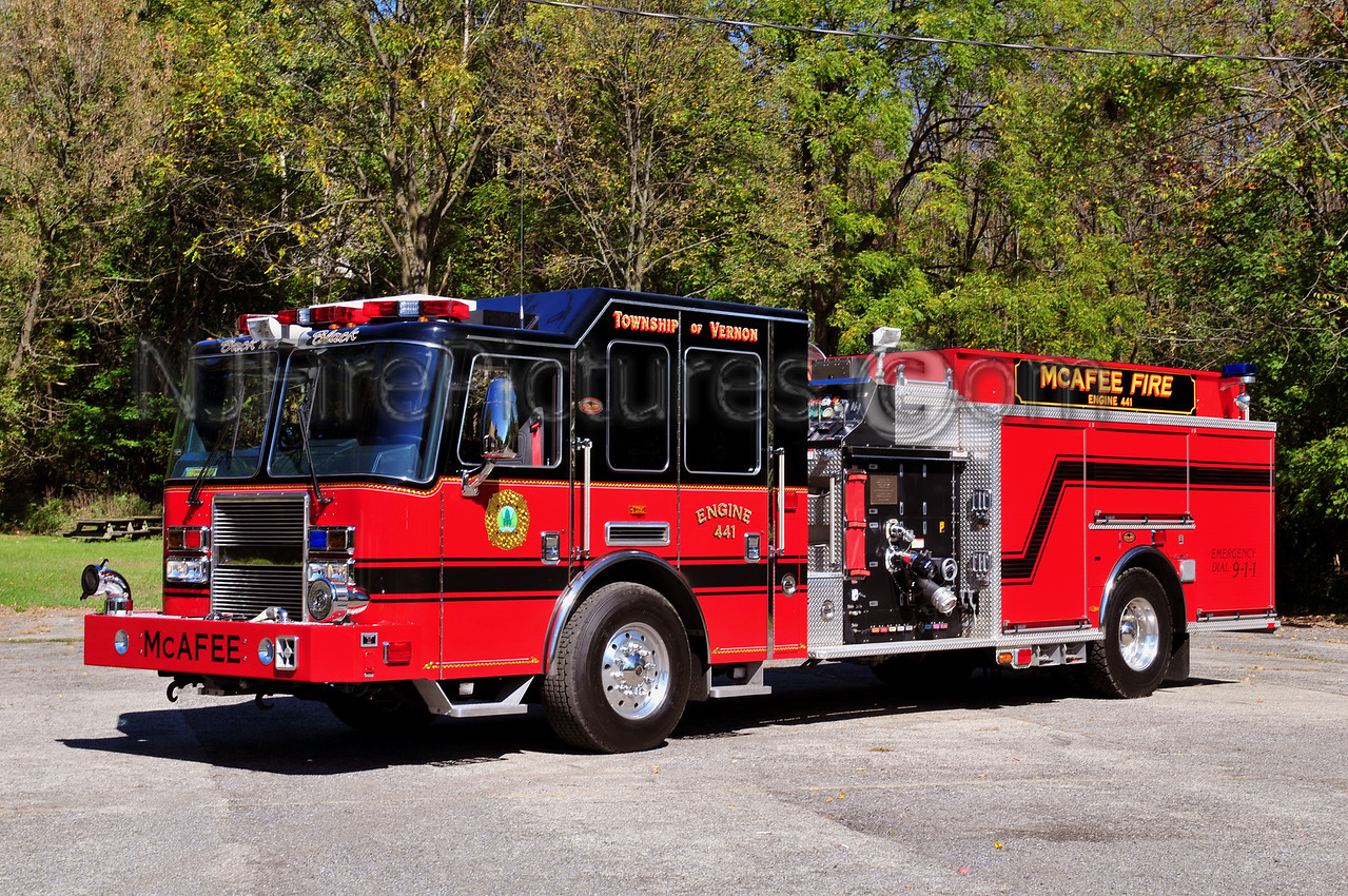 VERNON, NJ (McAFEE) ENGINE 441
