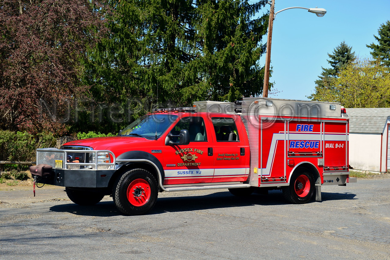 SUSSEX BOROUGH, NJ RESCUE 601
